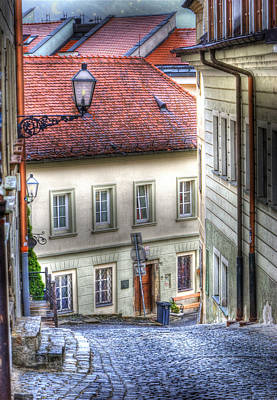 Bratislava. As The City Sleeps Poster
