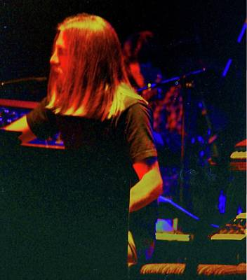 Brent Mydland Poster by Susan Carella