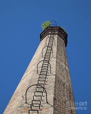 Brick Tower Poster by David Buffington
