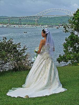 Bride And Bridge Poster