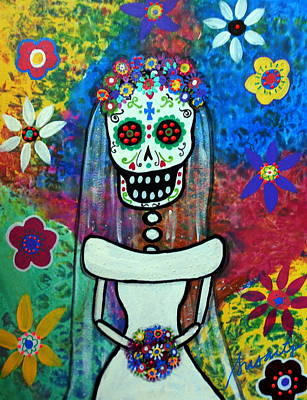 Bride Day Of The Dead Poster