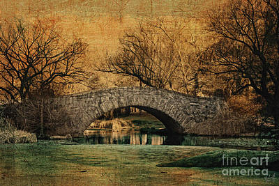 Bridge From The Past Poster by Nishanth Gopinathan