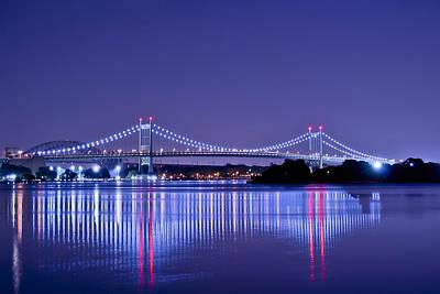 Tri-borough Bridge In Nyc Poster