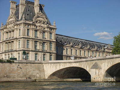 Bridge To Louvre And Musee Dorsay Poster