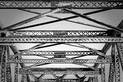 Bridge Truss Poster by Eric Gendron