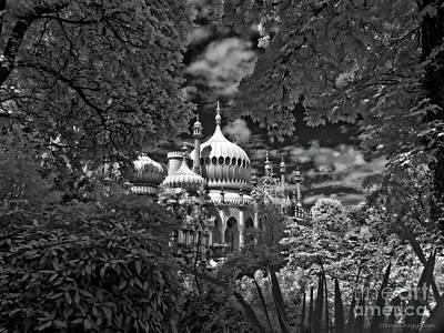 Brighton Royal Pavilion - Infrared  Poster