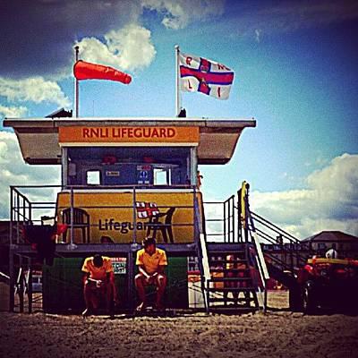 Brit Lifeguards Poster
