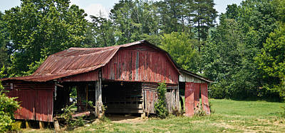 Broad Roofed Barn 1 Poster
