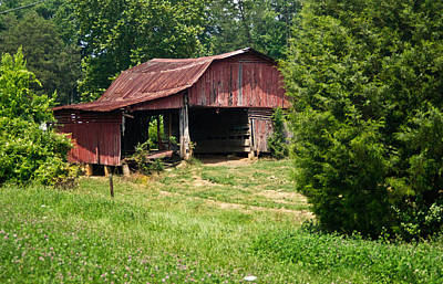 Broad Roofed Barn Poster