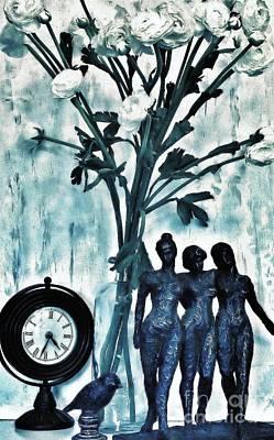 Bronze Still Life Poster