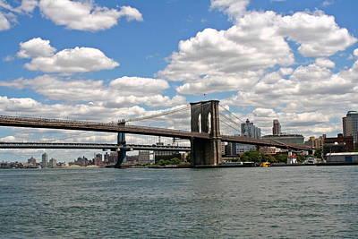 Brooklyn Bridge And Skyline Poster