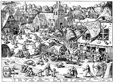 Bruegel: Hoboken, Belgium Poster by Granger