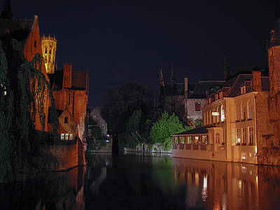 Poster featuring the photograph Bruges by David Gleeson