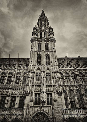 Poster featuring the photograph Brussels Groot Markt I by Jack Torcello