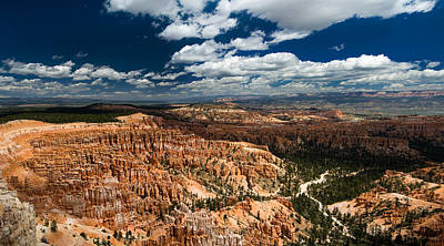 Bryce Canyon Ampitheater Poster by Larry Carr