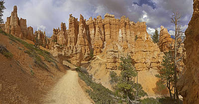 Poster featuring the photograph Bryce Canyon Trail by Gregory Scott