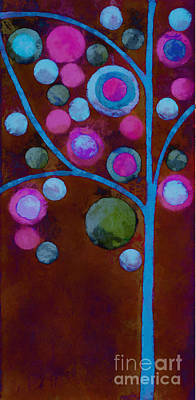Bubble Tree - W02d - Left Poster by Variance Collections
