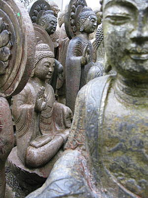 Poster featuring the photograph Buddha City by Brian Sereda