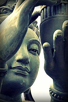 Buddhist Statue Poster by Valentino Visentini
