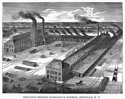 Buffalo: Factory, C1885 Poster