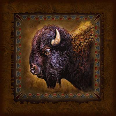 Buffalo Lodge Poster