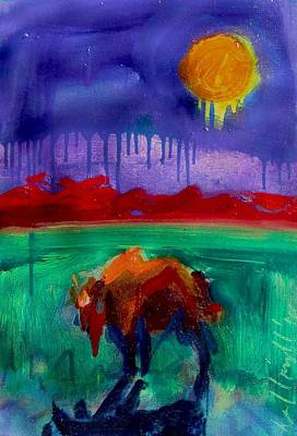 Buffalo Moon Poster