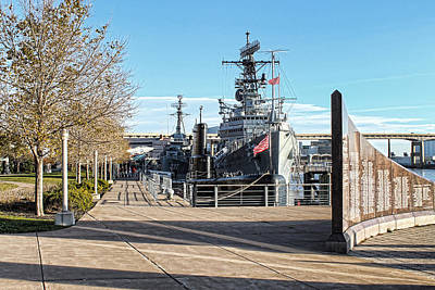 Buffalo Naval And Military Park Poster by Peter Chilelli