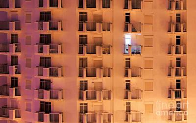 Building Facade Poster by Carlos Caetano