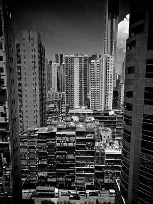 Buildings In Hong Kong Poster