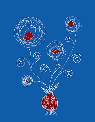 Bulb Flower Poster