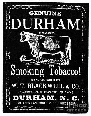 Bull Durham Tobacco, 1864 Poster