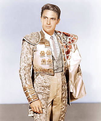 Bullfighter And The Lady, Robert Stack Poster by Everett