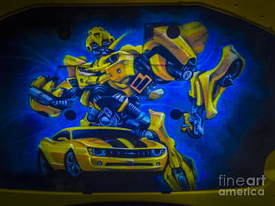 Bumble Bee Transformer Poster by Chuck Re
