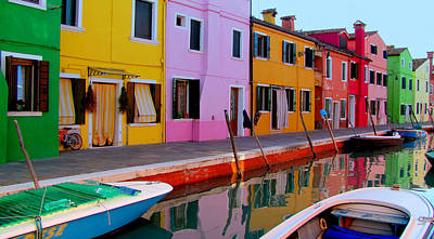 Poster featuring the photograph Burano by Barbara Walsh