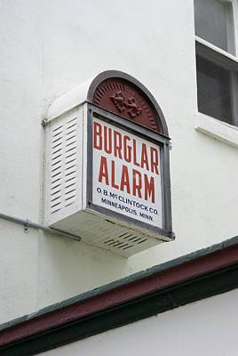 Burglar Alarm In Cocoa, Florida. Poster by Mark Williamson