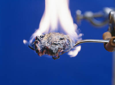 Burning Sugar Poster by Andrew Lambert Photography