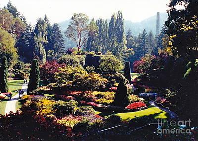 Butchart Gardens Splendor Poster