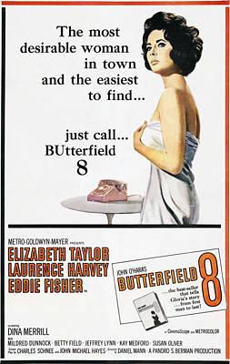 Butterfield 8, Elizabeth Taylor, 1960 Poster