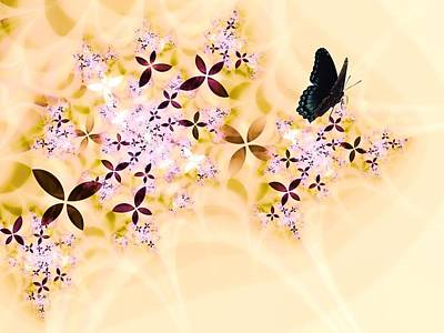 Butterflies Paradise Poster by Sharon Lisa Clarke
