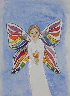 Butterfly People Sympathy Poster by DJ Bates