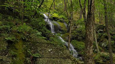 Buttermilk Falls - Tillmans Ravine Poster by Stephen  Vecchiotti