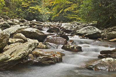 Cades Cove Smoky Mountains 6080 Poster by Michael Peychich