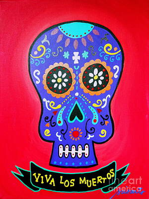 Calavera Day Of The Dead Poster