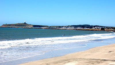 California Beach At El Granada Poster