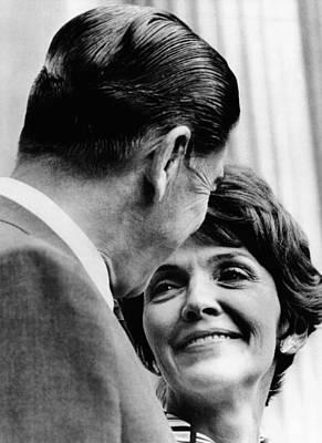 California Gov. Ronald And Nancy Reagan Poster by Everett