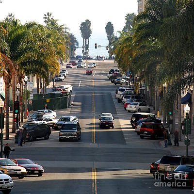 California Street Poster