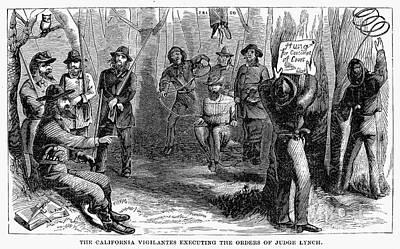 Califronia Vigilantes Poster by Granger