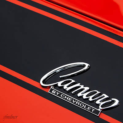 Camaro By Chevrolet Poster by Steven Milner