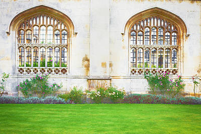 Cambridge Architecture Poster by Tom Gowanlock
