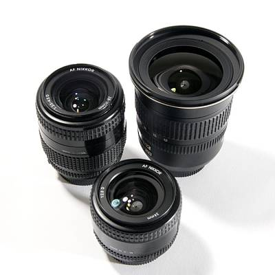 Camera Lenses Poster
